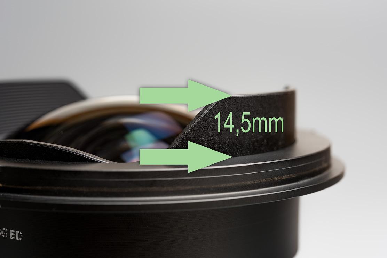 Distanz 14.5mm