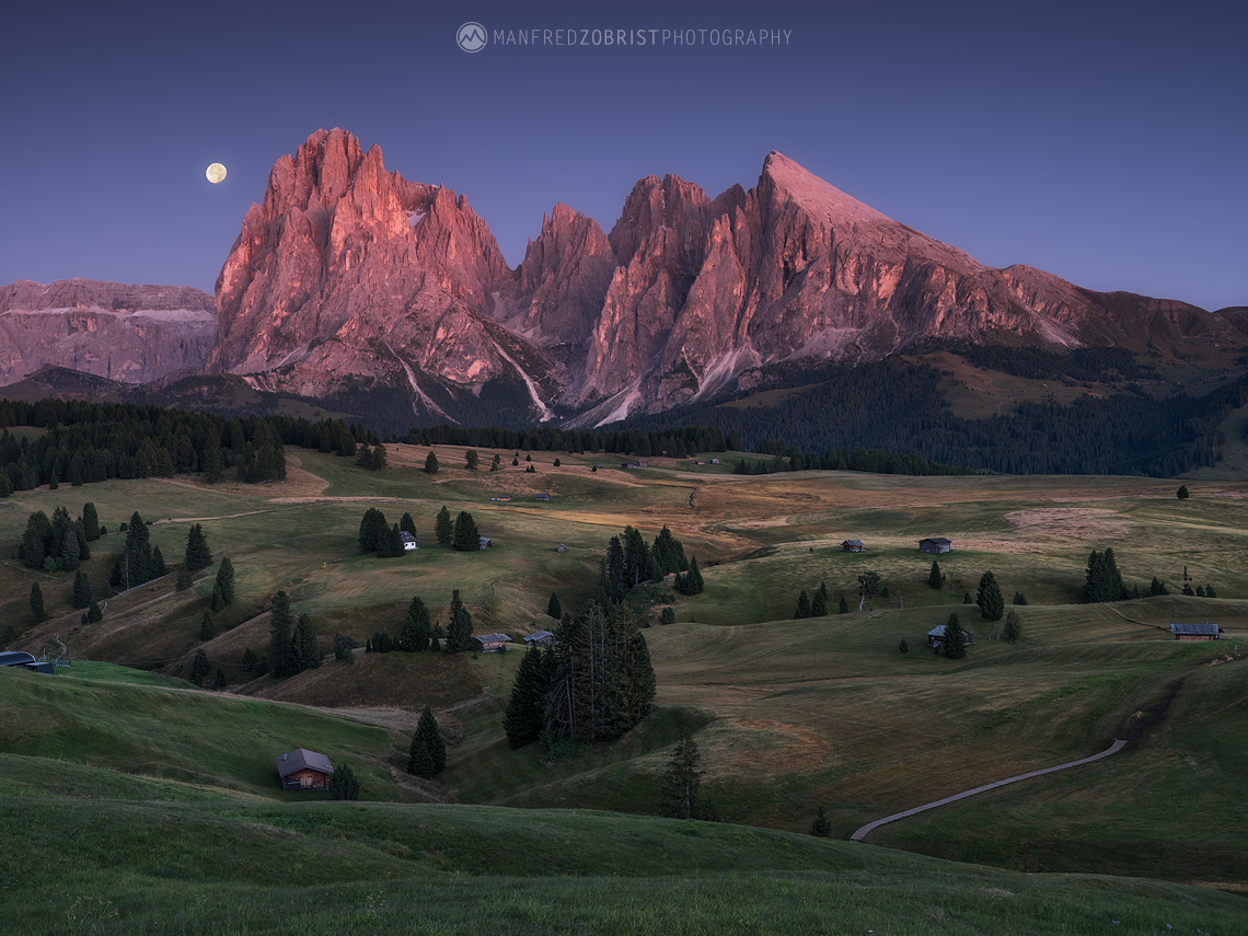 Siusi Moonrise